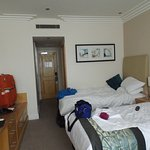 Good sized room, ensuite with shower over bath
