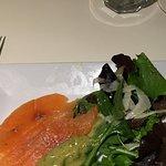 Gin cured salmon starter