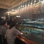 A look at the extensive beer menu