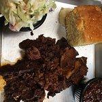 Enjoying both the terrific BBQ & company😀
