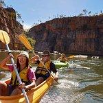 Canoeing at Katherine Gorge