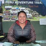 jefa de operaciones de Peru adventure trek