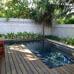 Own Pool in villa