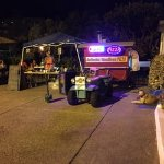 #NightView Of Our Locatwe are a food truck located in parking lot of 5ARenTASpace In Honokowai M