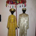 One of the traditional tribal wedding attire