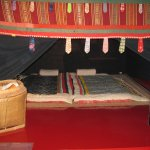 Tribal marriage bed