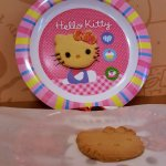 Hello Kitty cookie making