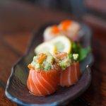Creative seafood wraps