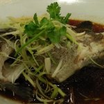 steamed, HK style with light soya sauce