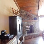 Room 210 - with fireplace in main lodge
