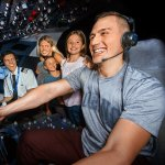 Fly solo or take turns with the family in the captain's seat