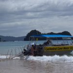 Water Taxi to Cathedral Cove