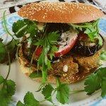 Falafel Burger!