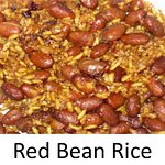 Brown Rice, Red Kidney Beans