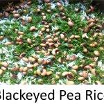 Basmati Rice, Black-eyed peas