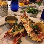 Lobster thermidor - delicious!
