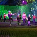 bounce below - underground trampoline attraction