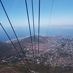 View from the cableway cabin