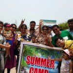 During Our Summer Camp with Family