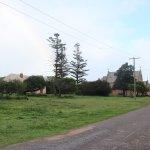 Central Greenough - driving through