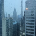 veiw from the room on the west side | floor 48th