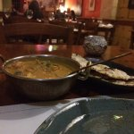Great food, this is a prawn moilee in the coconut sauce, a bit spicy but very tasty. I was enjoy