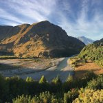 Awesome views of Shotover River
