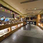 花莲蓝天丽池饭店绿波廊西餐厅照片