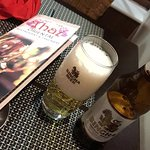 singha beer and menu