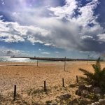 Local art and beach sea views