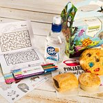 Kids Meal Deals- included Activity Pack