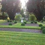 Well kept walks thru gardens