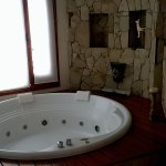 Jacuzzi (in the 'living room' area)