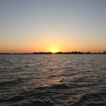 Sunrise from lake