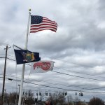 Red Lobster - flags out front