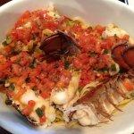 Red Lobster - my lobster & pasta dish