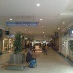 the main shopping mall