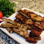 Talerz różnych mięs