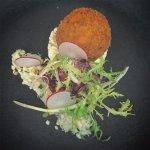 King prawn, lime & dill fishcake