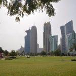 Park and skyline