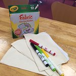 arts and crafts sessions every week! (term time only)