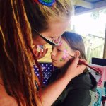 face painting at our events