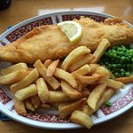 Great fish and chips.