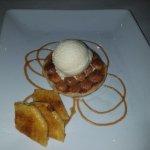 Macadamia dessert w/ pineapple
