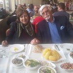 Another great Lunch at the Shams Restaurant