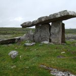 Iconic dolman in the Burren near Ballyvaughn over 4500 years old