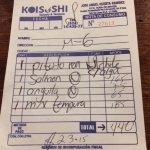 Koisushi bill