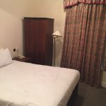 100 year old wardrobe & very comfy bed!!!
