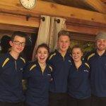 Chalet Alaska Team - Great bunch