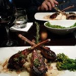 Chimmichu lamp chops...Excellente'